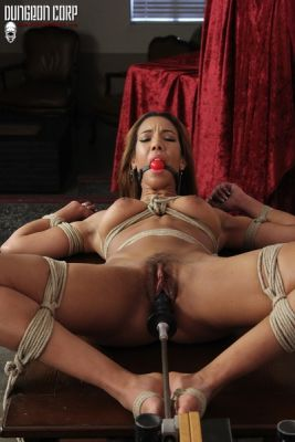 DungeonCorp - Spread and Fucked - Sophia Fiore