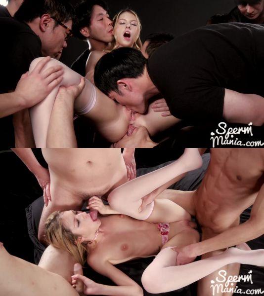 Rebecca Volpetti - Rebecca Volpetti's pussy filled with lots of cum (13.04.2019) [FullHD 1080p] (Spermmania)