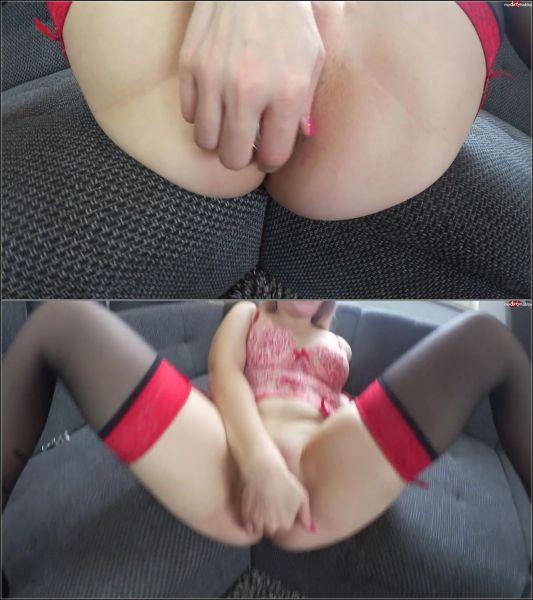 SarahSecret - Extrem Heftig - Anal-Schlammschieben und Ass-To-Mouth mit dem Riesenschwanz