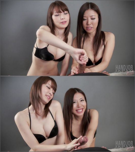 HandjobJapan: Rin Miura, Sakura Aoi - Hot Double Handjob (2 videos) (FullHD/2018)