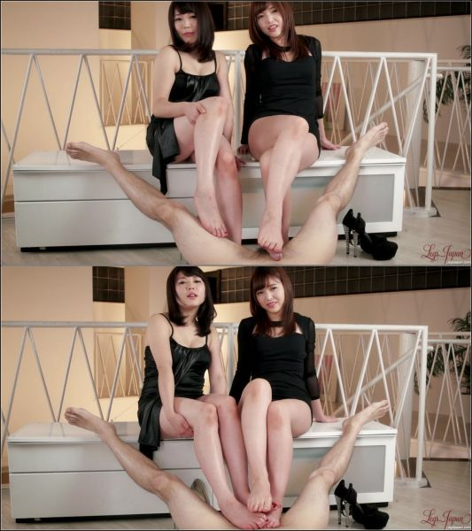 LegsJapan - Yui Kawagoe, Shino Aoi - Foot Worship (2 videos) [FullHD 1080p]
