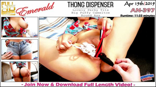 ArgentinaNaked - Esmeralda - Thong Dispenser - AN-397 (15.04.2019) [FullHD 1080p]
