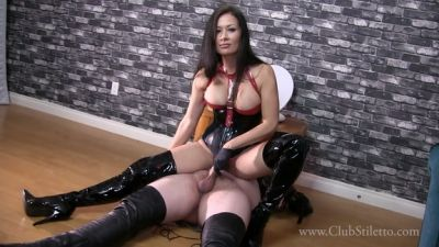 Clubstiletto – Push It Out With Your Cum –  Miss Jasmine