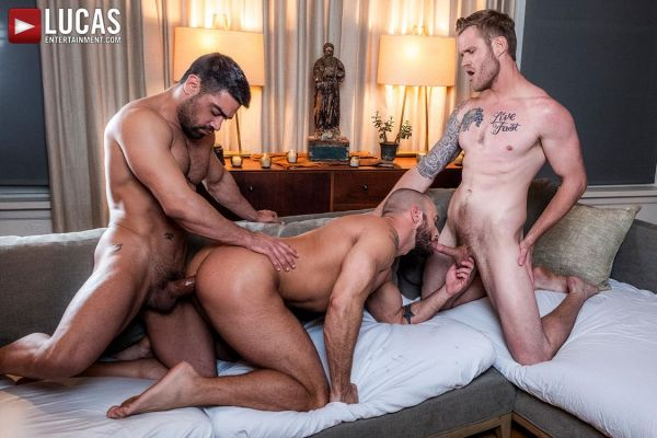LE – Jessie Colter Takes Wagner Vittoria and Shawn Reeves Raw Cocks