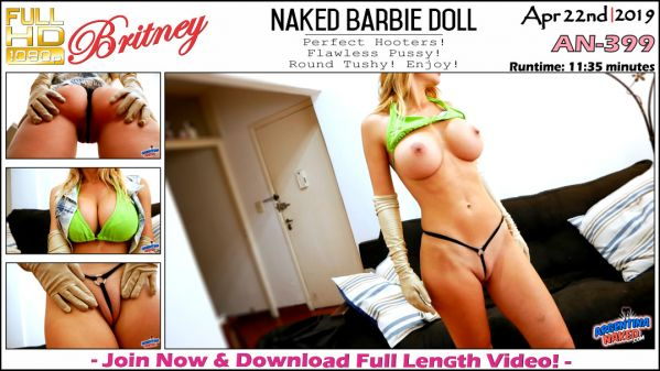 Brintey - Naked Barbie Doll - AN-399 (22.04.2019) [FullHD 1080p] (ArgentinaNaked)