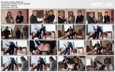 FirmHandSpanking - The Institute - A - Helen Stephens