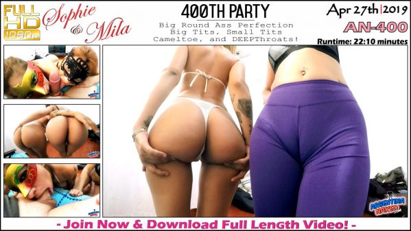 ArgentinaNaked: Sophie, Mila - 400th Party - AN-400 (27.04.2019) (FullHD/2019)