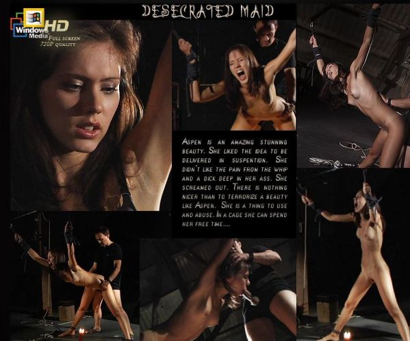 Aspen - Desecrated Maid - Part 1 (HD 720p)