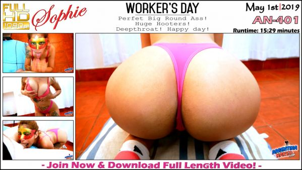 ArgentinaNaked: Sophie - Worker's Day - AN-401 (01.05.2019) (FullHD/2019)