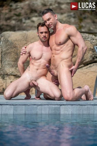 LE - Muscle-Daddy Tomas Brand Pumps Drake Rogers' Ass - Fulfilling Daddy's Needs