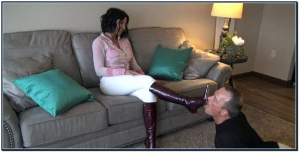 Boot Licking Bitch Femdom Foot Fetish