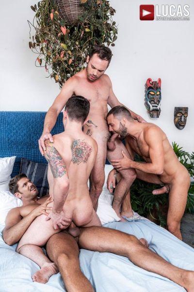 LE - Tyler Roberts, Jeffrey Lloyd, Drake Rogers & Dakota Payne - Stepbro Foursome