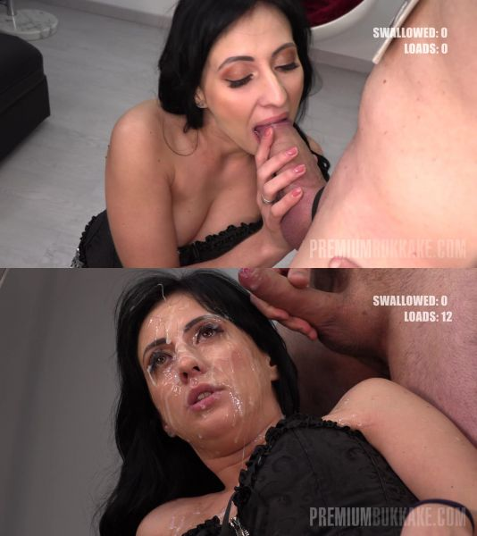 Sherry Vine #4 - Blowbang - First Camera (10.05.2019) [FullHD 1080p/4K] (PremiumBukkake)