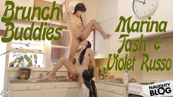 Marina Tash and Violet Russo - Brunch Buddies