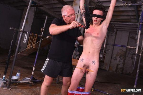 BoyNapped - Jesse Evans & Sebastian Kane - New Boy Jesse Gets A Stern Lesson - Part 1