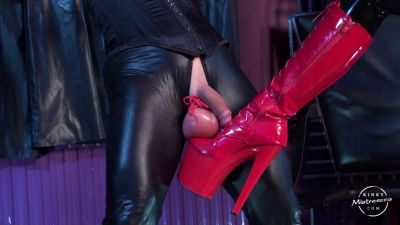 KinkyMistresses – The Fetish Slave With Big Balls – Mistress Anita Divina