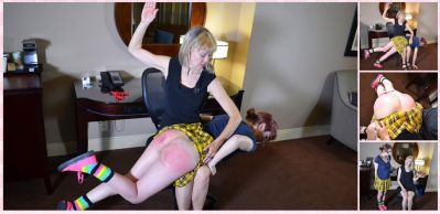 SpankingSororityGirls – Episode 199: Ava Nyx Spanked by Clare