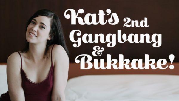 TexxxasBukkake - Kat's 2nd Gangbang & Bukkake (16.05.2019) [FullHD 1080p] (M@nyVids)