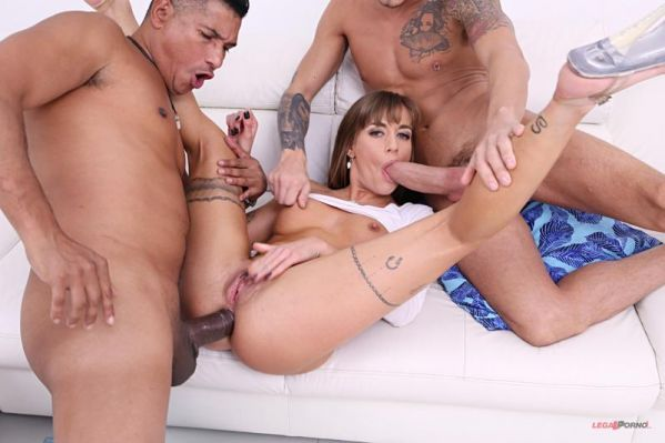 LegalP0rno: Silvia Dellai - Silvia Dellai assfucked in anal threesome with DP and DVP SZ2148 (HD/2019)