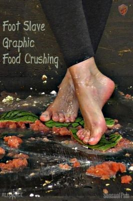 SensualPain - May 22, 2019: Foot Slave Graphic Food Crushing | Abigail Dupree