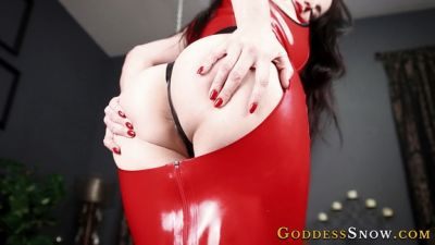 GoddessAlexandraSnow – Jerk For Red Latex
