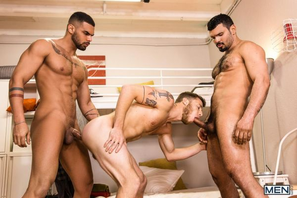 MEN – Hostel Takeover Part 3 – Jean Franko, Justin Matthews & Lucas Fox
