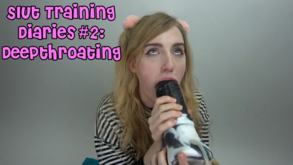 MissPrincessKay - Slut Training Diaries #2: Deepthroating (18.05.2019) [FullHD 1080p] (M@nyVids)