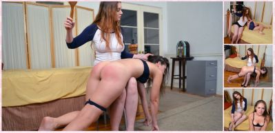 SpankingSororityGirls – Episode 200: Rachel Spanked to Tears