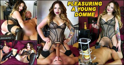 TheEnglishMansion – Pleasuring A Young Domme – Miss Vivienne Hardy