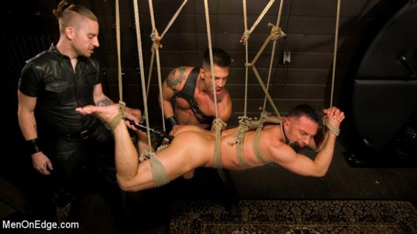 MenonEdge - Tuckered Out - New Slave Kept on the Edge - Colby Tucker