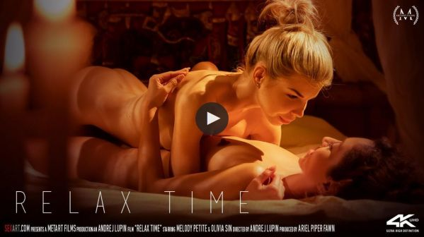 Melody Petite and Olivia Sin - Relax Time