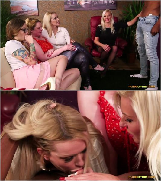 PureCFNM: Amber Jayne, Amber West, Kylie Nymphette, Michelle Thorne - Shy Daughters (05.04.2019) (FullHD/2019)