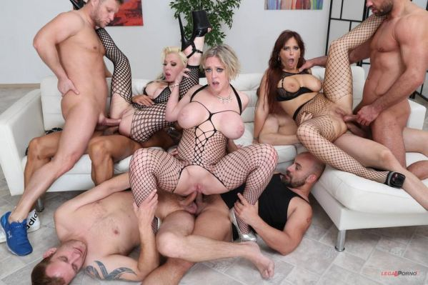 Syren De Mer, Dee Williams, Barbie Sins - Outnumbered both way Pee Edition 2 With Syren De Mer, Dee Williams and Barbie Sins Balls Deep Orgy, Piss drinking GIO1063 (HD/2019) by LegalP0rno.com
