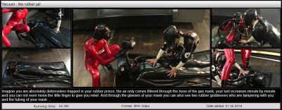 RubberEmpire – Vacuum – the rubber jail
