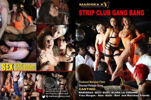 Strip Club Gangbang (2019)