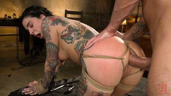 Joanna Angel Punished with Rope Bondage and Rough Anal