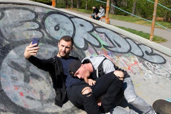 RD - Dudes In Public 49 - Skatepark - Vito & Ryu