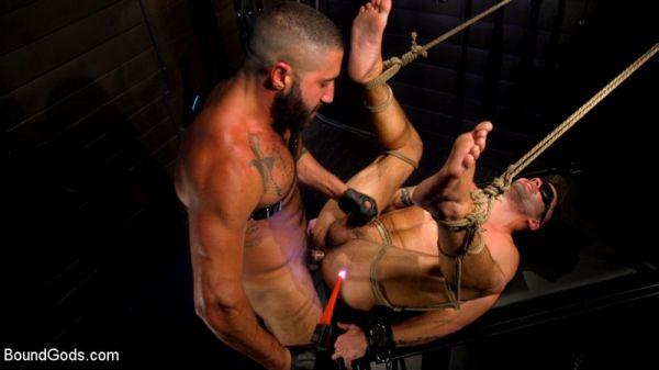BG - My God Sharok, Casey Everett Worships New Leather-Clad Master