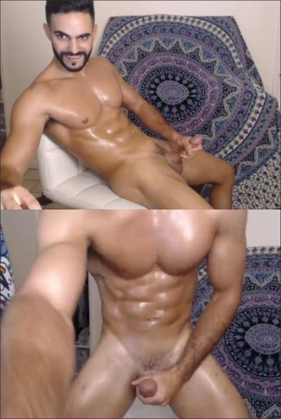 KG - Rami, str8 arab sport guy shows his big cock on cam