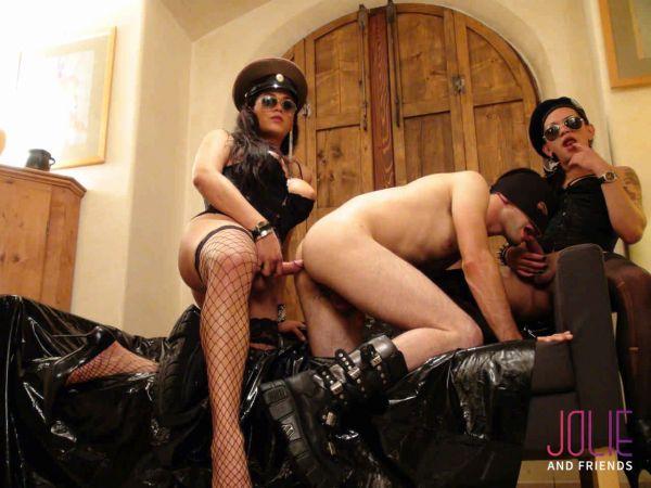 Camilla Jolie, Drielly Riuston - Shemale Sex Police (JolieAndFriends.com/HD/2019)