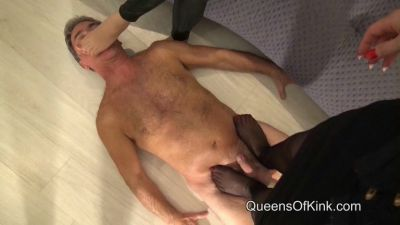 QueensofKink – Trampled By Our Nyloned Feet