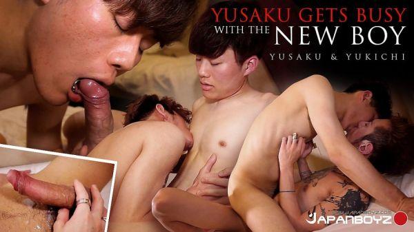 JB - Yusaku Gets Busy with the New Boy Yukichi