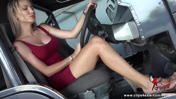 Clip4Sale - Angel The Dreamgirl - You Wish Your Cock Is Under The Pedal (26.04.2019) [FullHD 1080p]