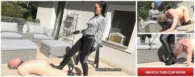 FetishLiza – Boot licking stable boy