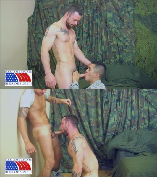 AllAmericanHeroes - Sergeant Miles And Airman First Class Paolo