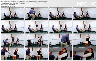 RealSpankingsInstitute - Two Students Caught Making Out and Sharing a Bed (Part 1)