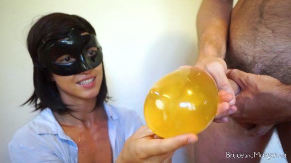 Bruce, Morgan - Piss and Cum Condom (31.05.2019) [FullHD 1080p] (BruceAndMorgan)
