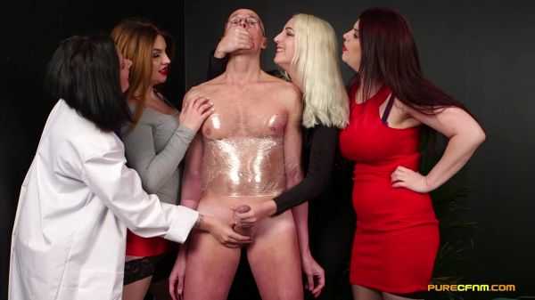 Belle O'Hara, Bluebell, Liz Rainbow, Lucia Love - Slimming Wrap (28.06.2019) [FullHD 1080p] (PureCFNM)