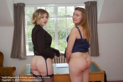 FirmHandSpanking – The Institute – R – Helen Stephens