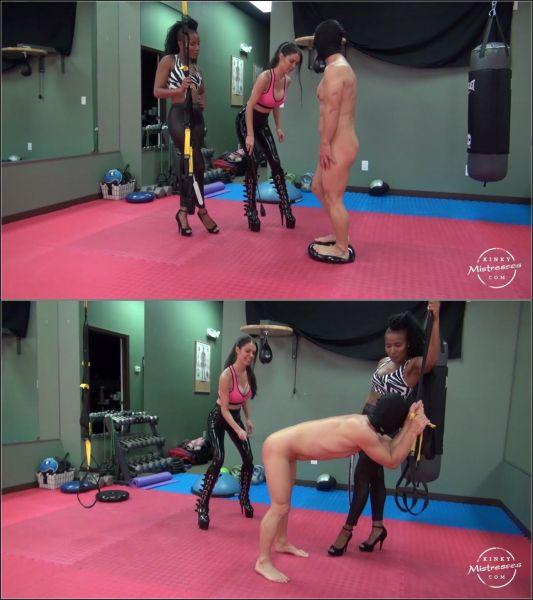 KinkyMistresses: Mistress Susi - The Kinky Fitness GYM (HD/2019)